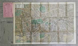 Geographia Pictorial Plan of London
