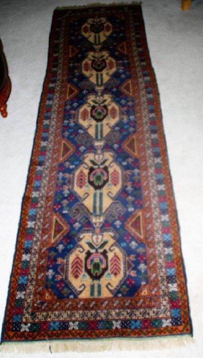 Vintage Persian Runner Rug 10x2.9