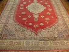 Antique Turkish Oushak Ushak Rug 10.4x15.1