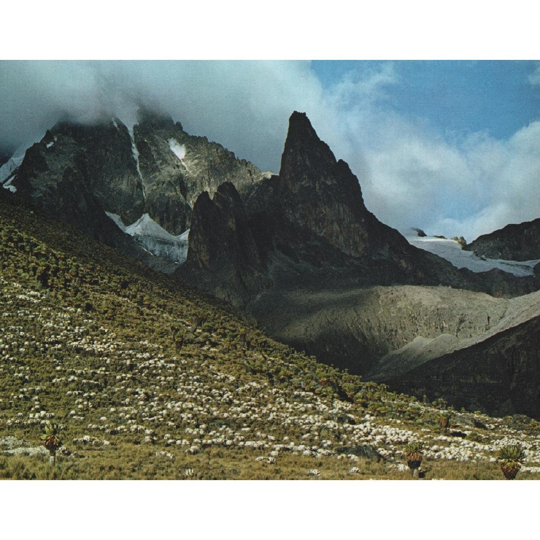 ELIOT PORTER - Mount Kenya, Africa