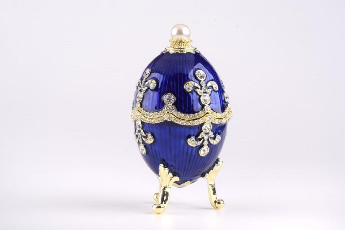 After Fabergé: Navy Russian Egg