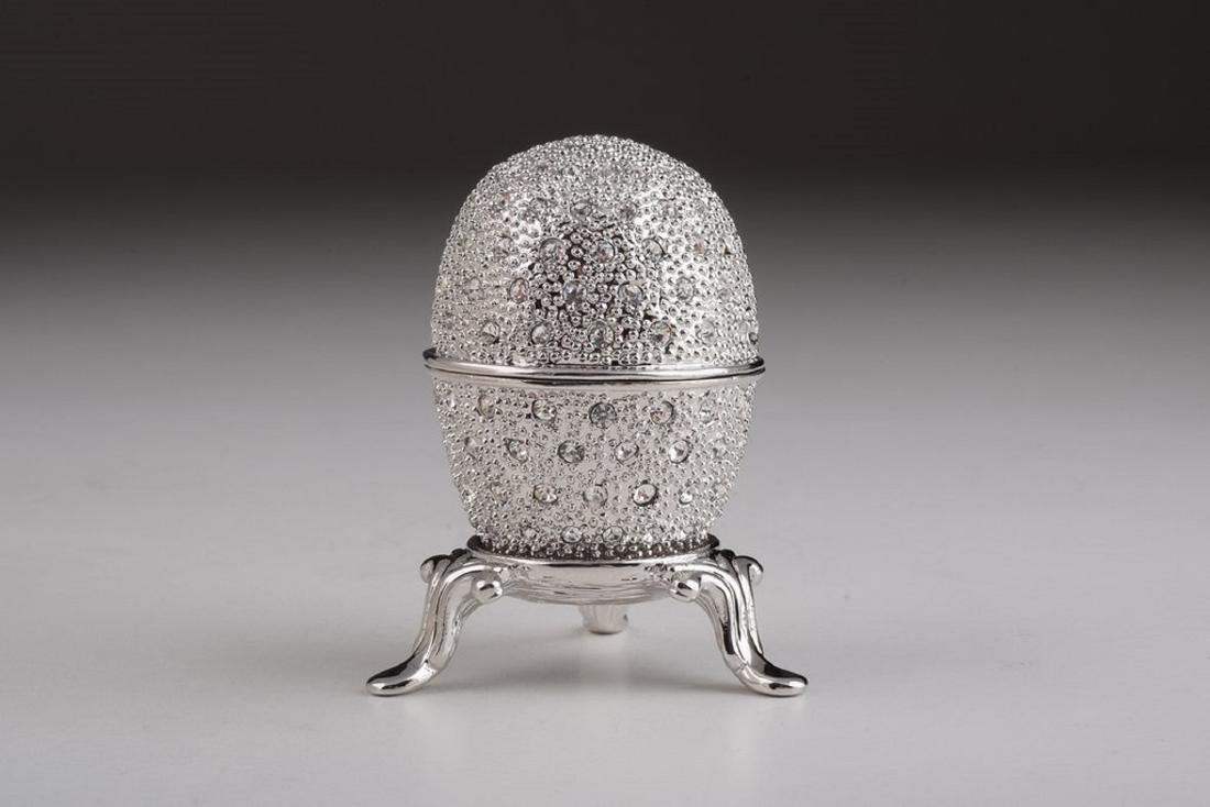 After Fabergé: Silver Faberge Egg