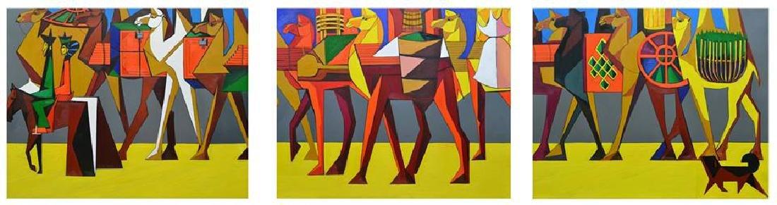 Bono Painting Camel Series