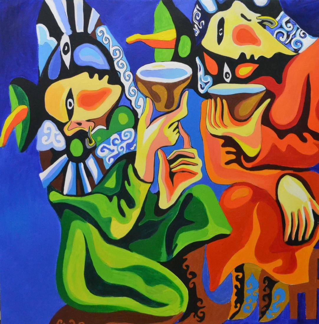 Bono Painting Gossip