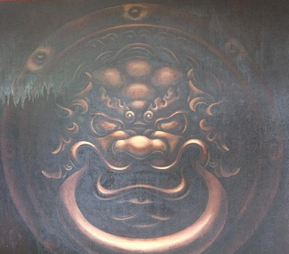 Naigaa Painting Zeebad (brown)