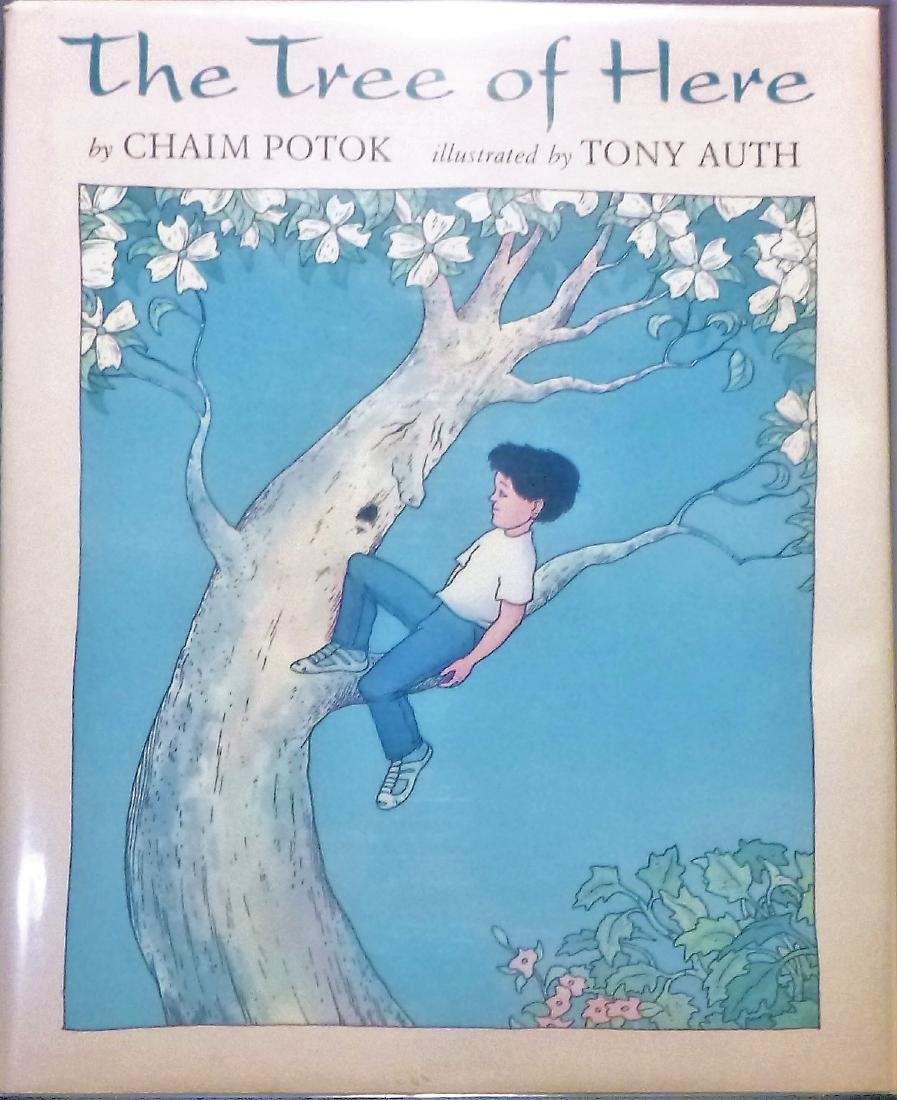 The Tree of Here Potok Signed 1st Edition