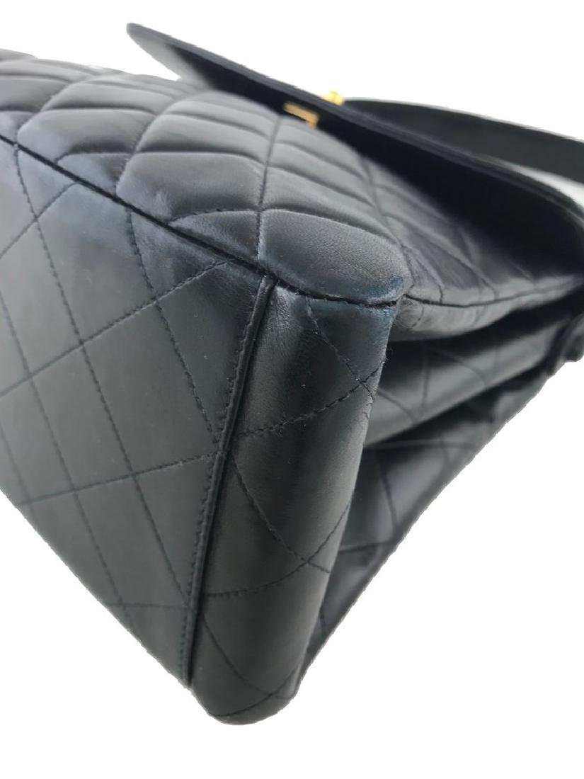 Chanel Vintage Quilted Leather Side Flaps Shoulder Bag - 6
