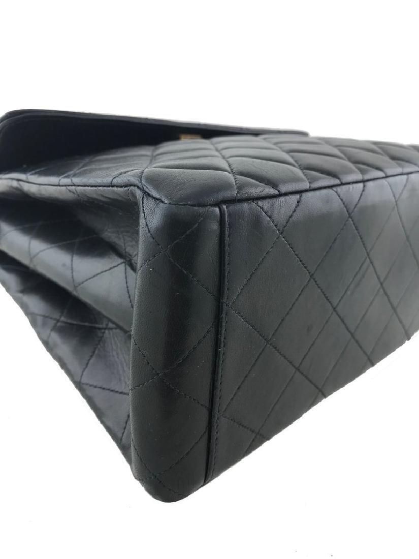 Chanel Vintage Quilted Leather Side Flaps Shoulder Bag - 7