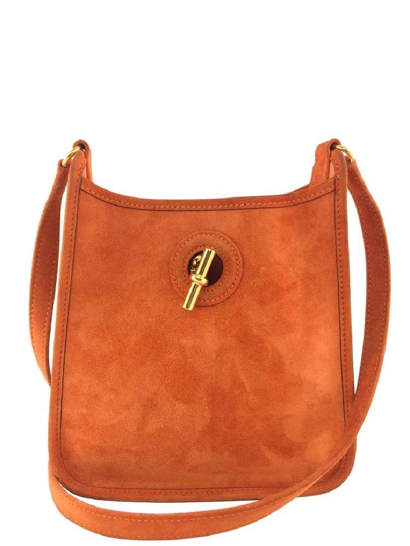 Hermes Vespa TPM Suede Crossbody Bag