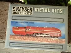 "Keyser (Made in UK), BR (LMS) ""Coronation"" locomotive"