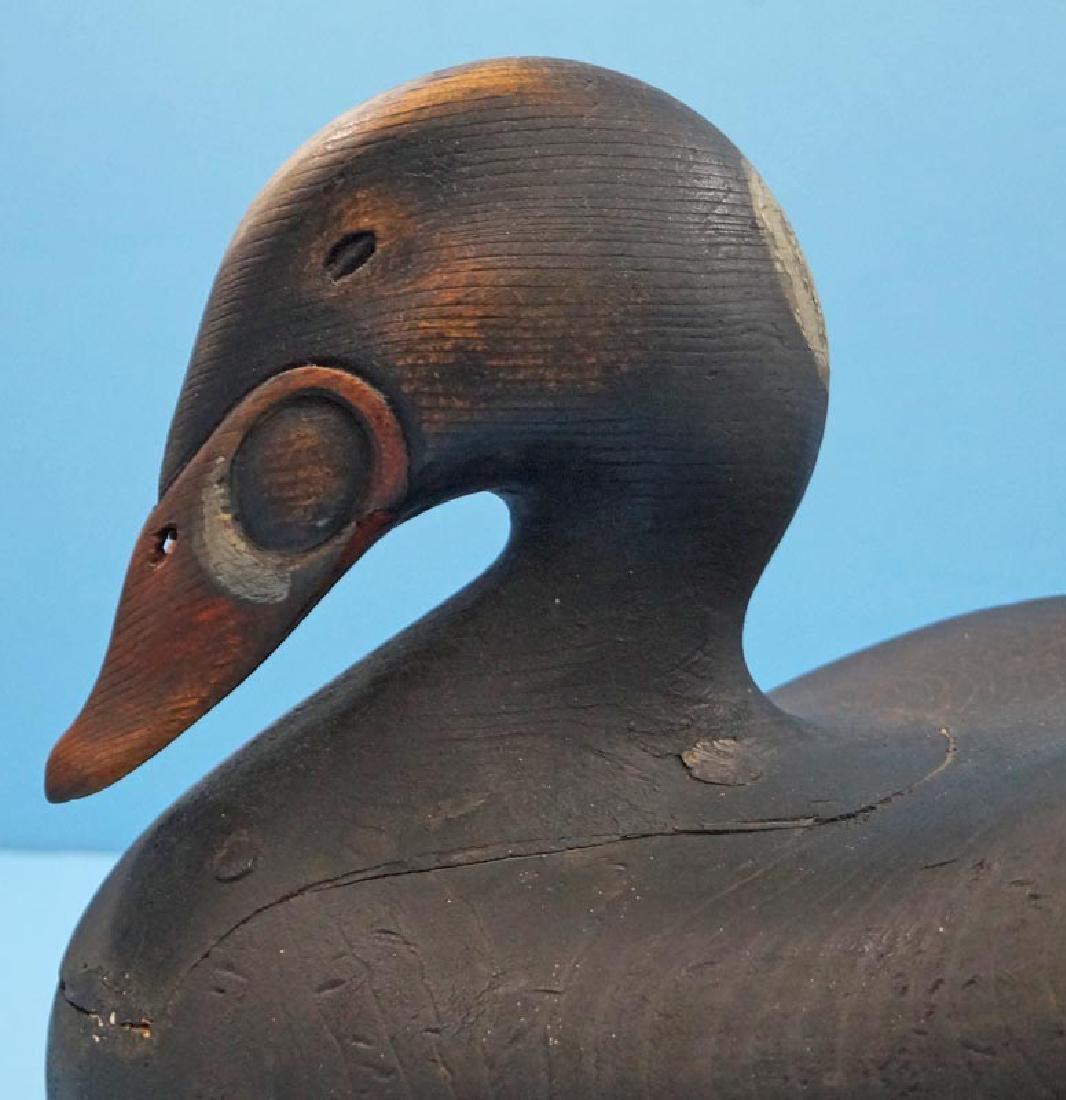 Scoter Duck Decoy Gus Wilson Style by Frank Finney - 2