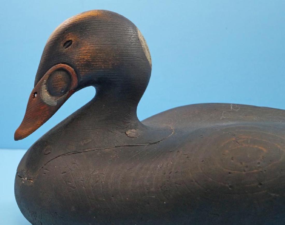 Scoter Duck Decoy Gus Wilson Style by Frank Finney - 3