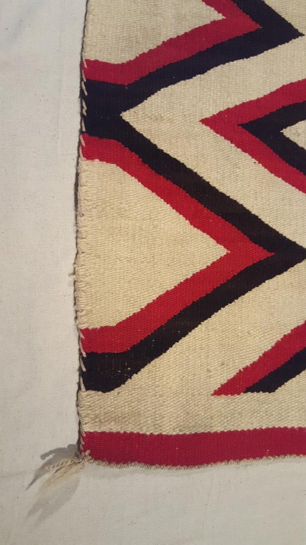 Navajo Woven Regional Rug Ca 1920's - 3