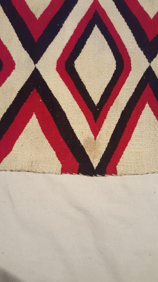 Navajo Woven Regional Rug Ca 1920's - 6