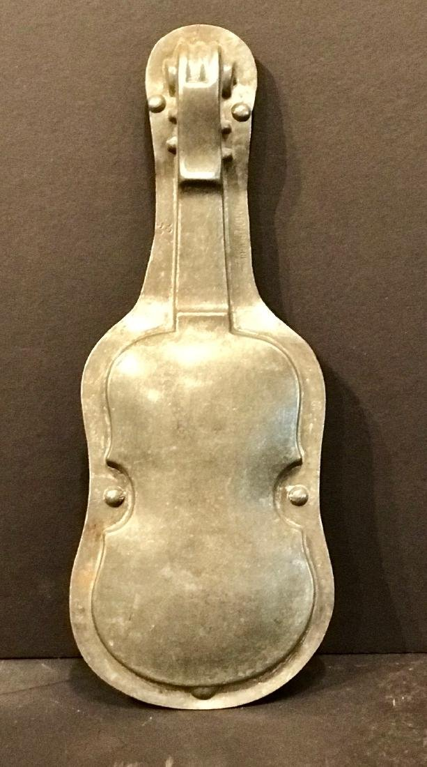 Violin Chocolate Mold, C 1900 - 2