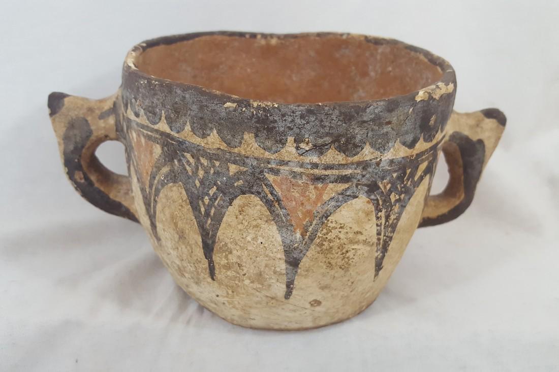 Early Zuni Handled Bowl Ca1890-1910