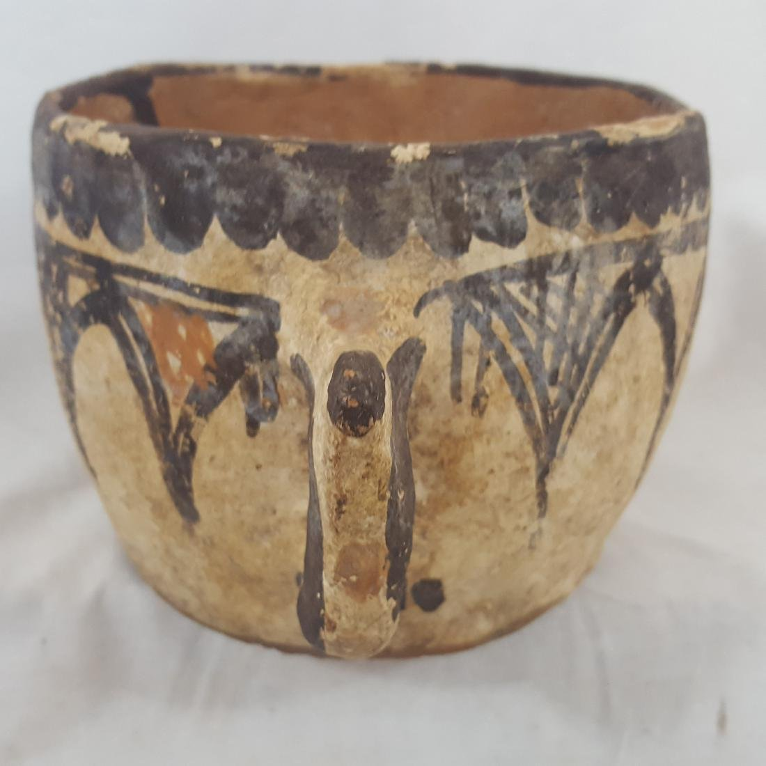 Early Zuni Handled Bowl Ca1890-1910 - 2
