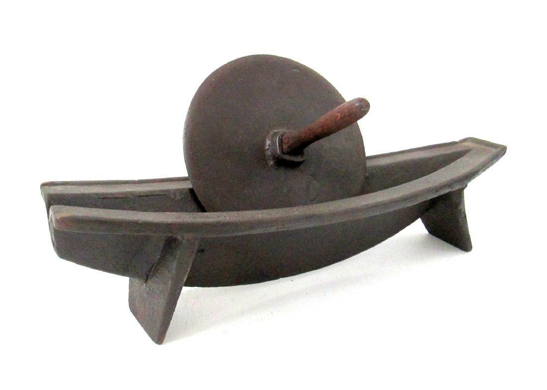 Rare 18th Century Iron Herb Grinder