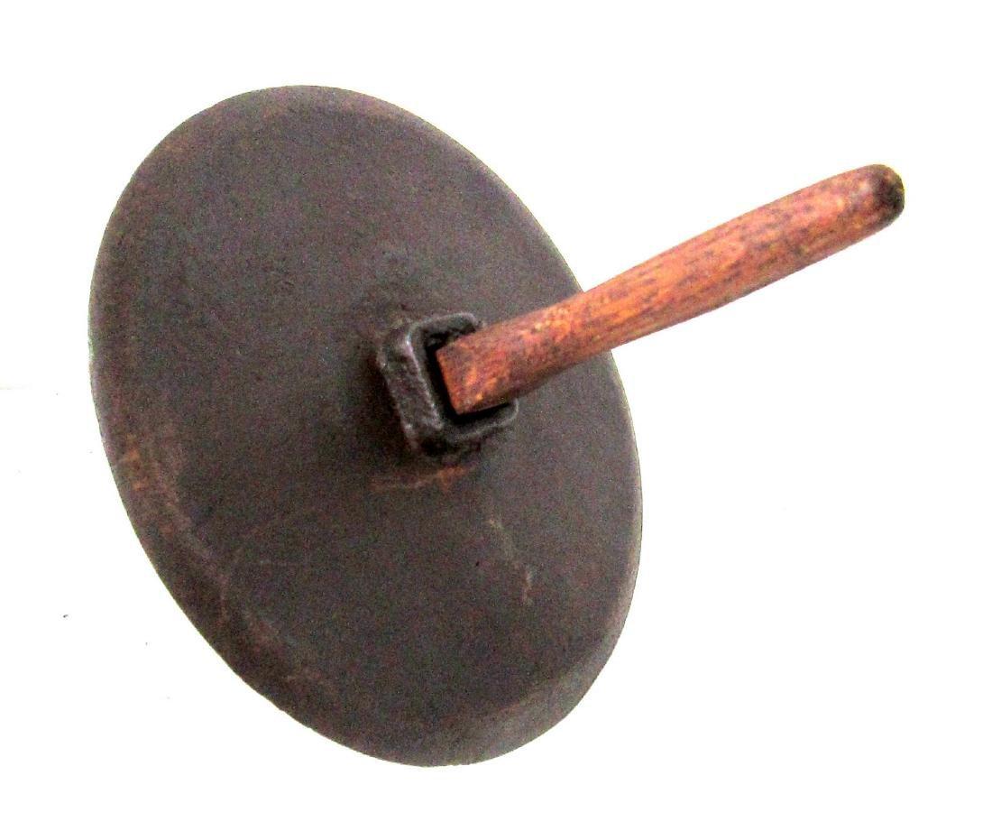 Rare 18th Century Iron Herb Grinder - 4