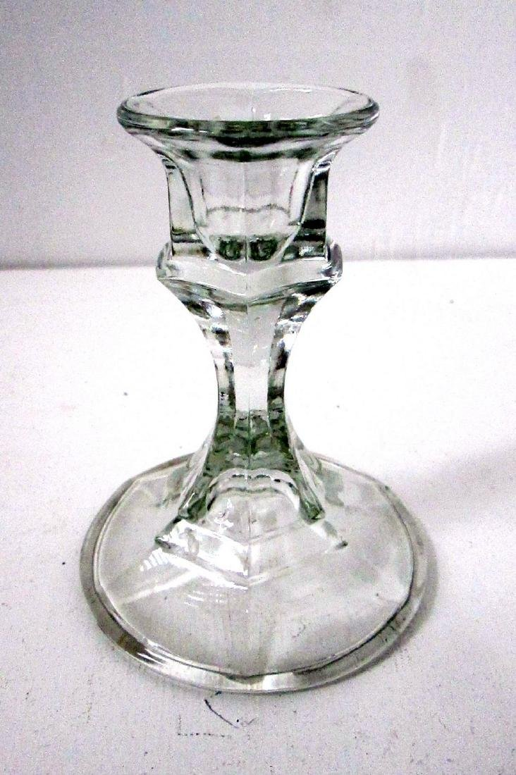 Early Glass Chamberstick - 5