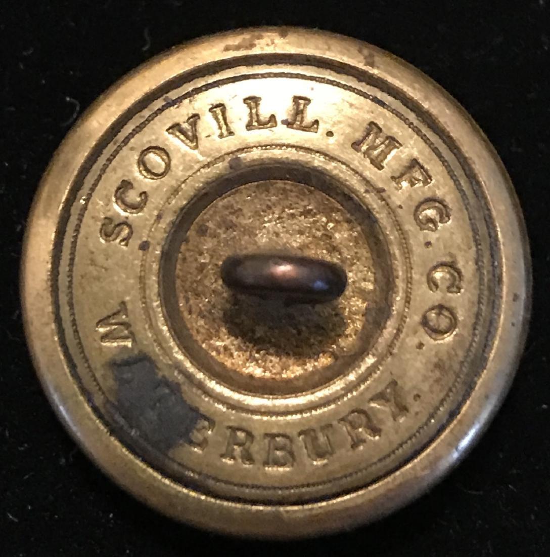 Civil War Brass Coat Button, RLG - 2