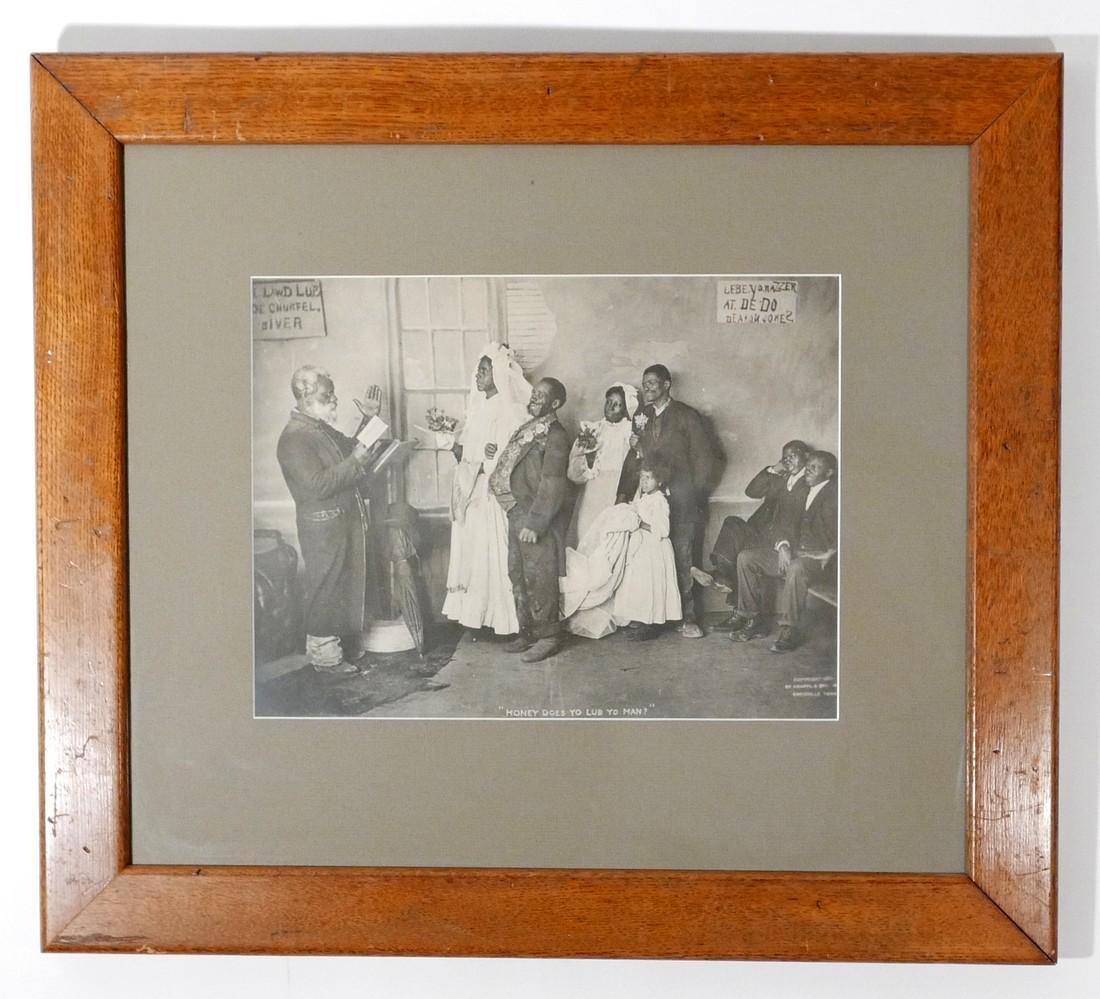 Large Black Humorous Original Photograph