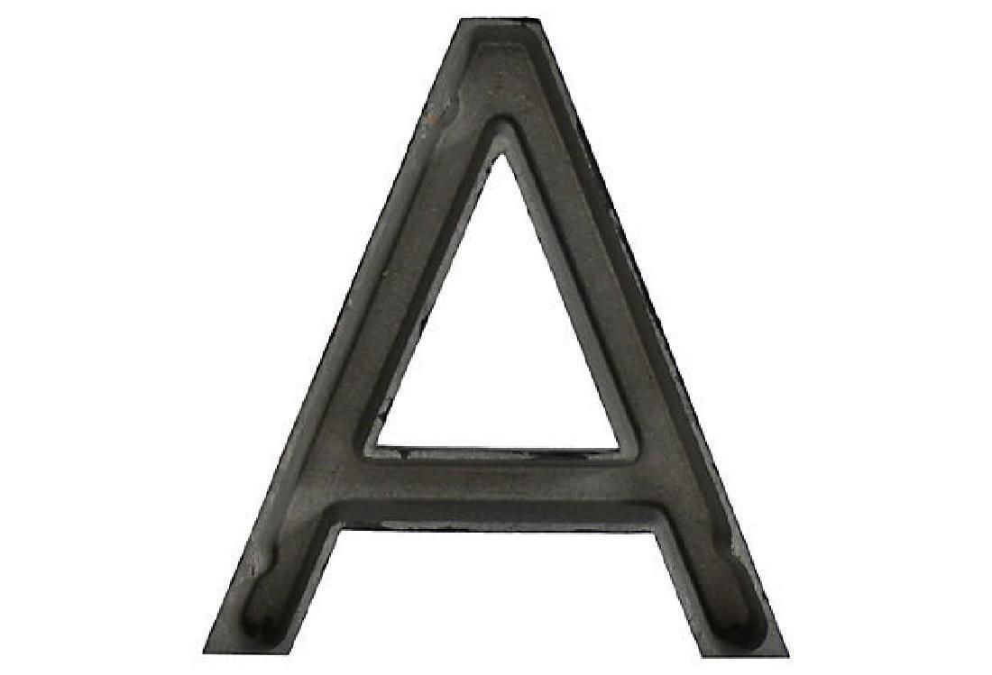 Aluminum Letter A - 2