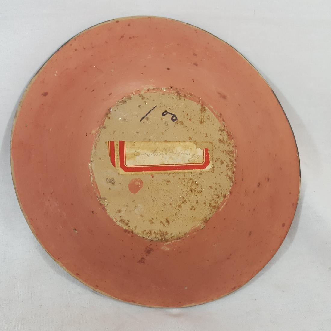 Santo Domingo Pueblo Decorated Bowl Ca 1920's - 3