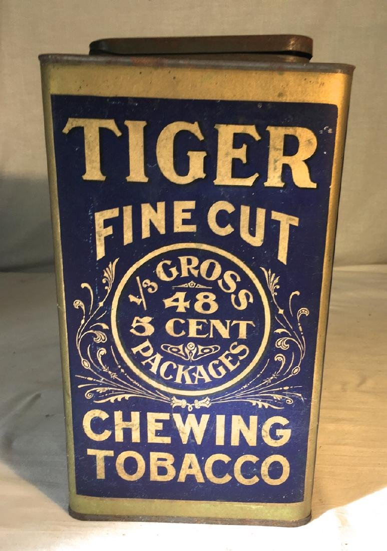 Rare Chewing Tobacco Tin - 2