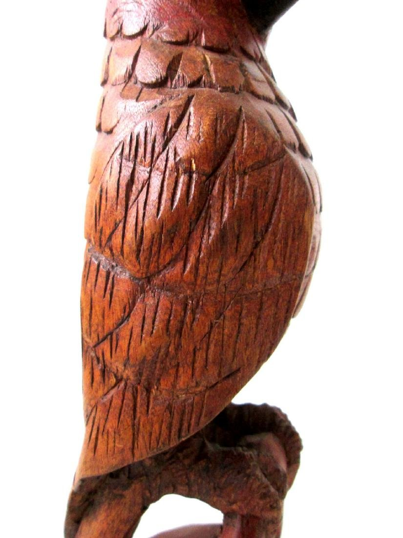 Early Carved Parrot - 3