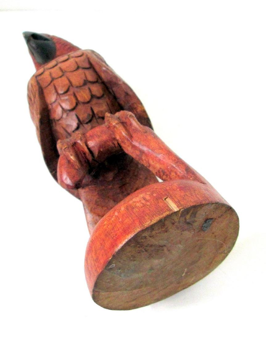 Early Carved Parrot - 9