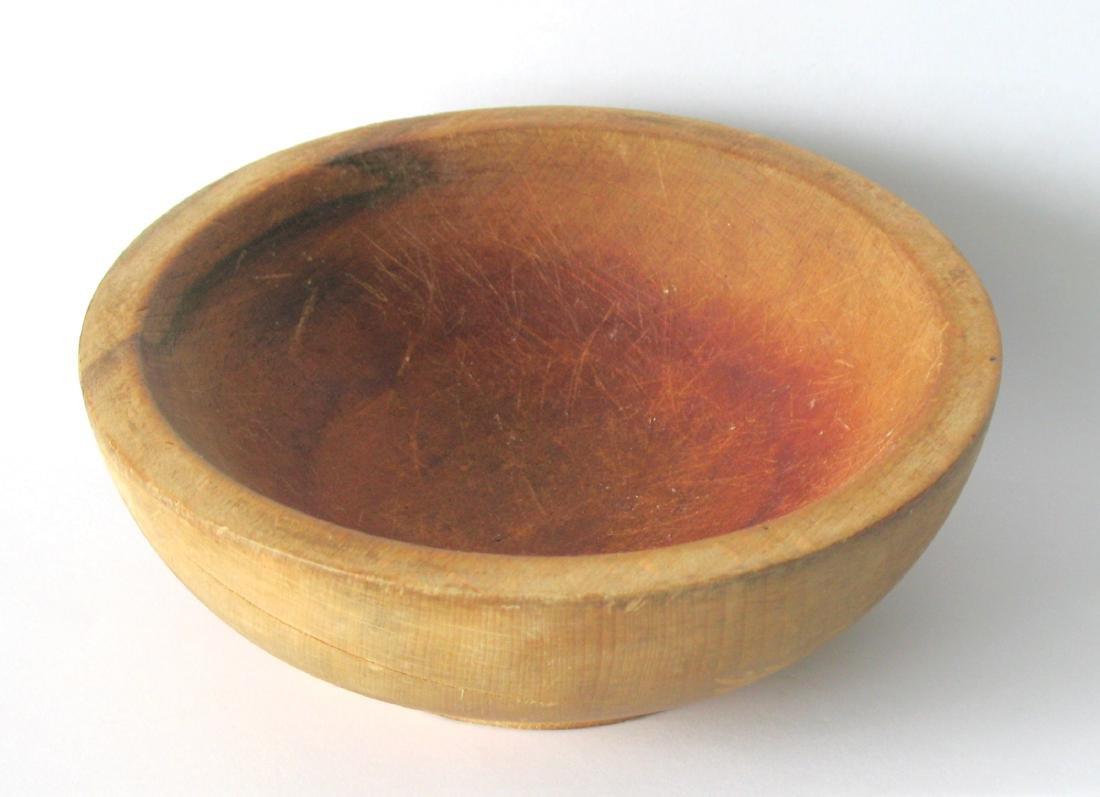 Vintage Wood Chop Bowl