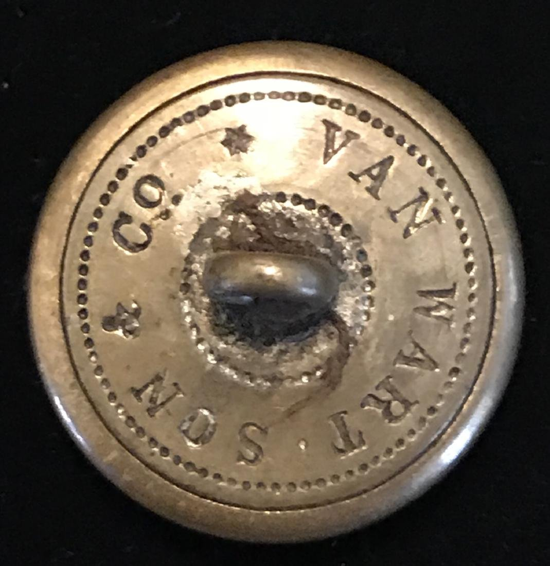 Civil War South Carolina Brass Coat Button - 3