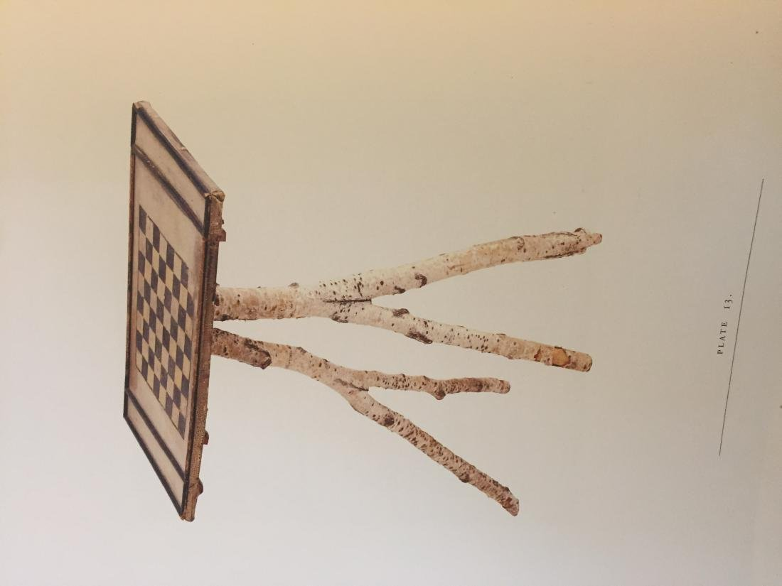 Maine Checkerboard Twig Table - 2