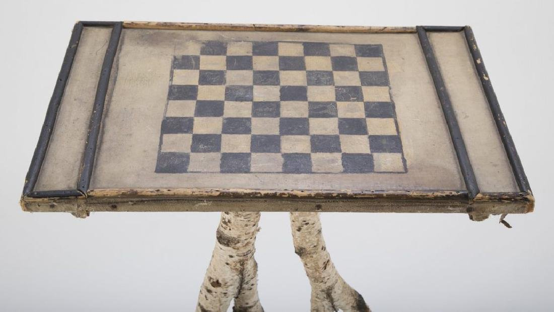 Maine Checkerboard Twig Table - 6