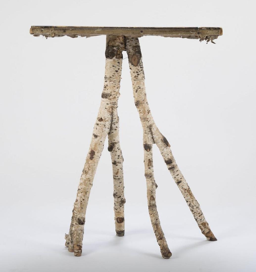 Maine Checkerboard Twig Table - 7