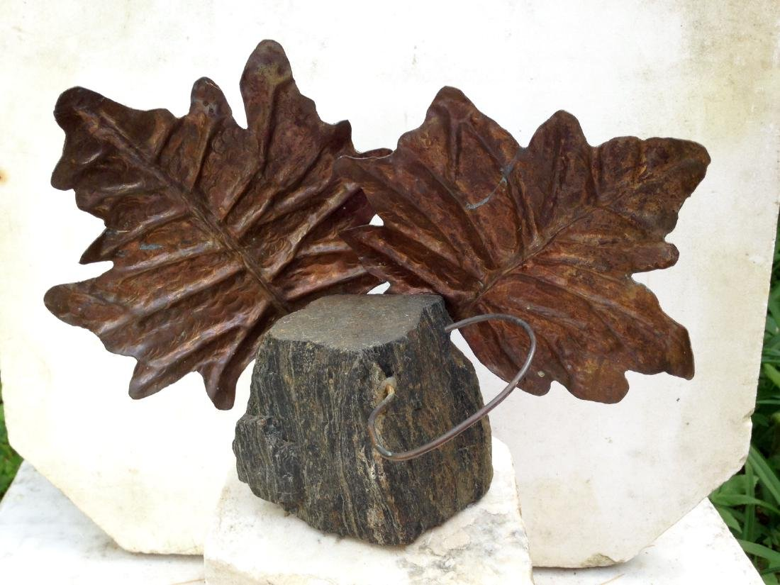 2004 Copper and Granite Sculpture by Sebastian Houseman