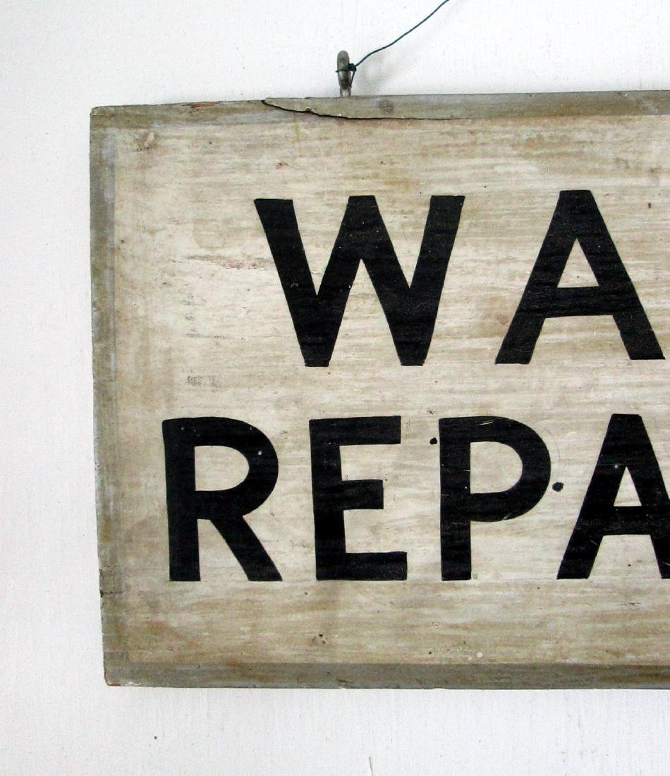 Early Watch Repairing Trade Sign - 2