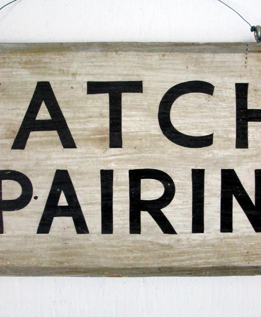 Early Watch Repairing Trade Sign - 3