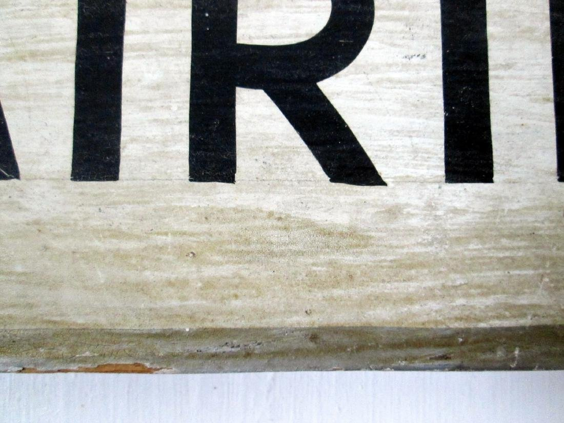 Early Watch Repairing Trade Sign - 5