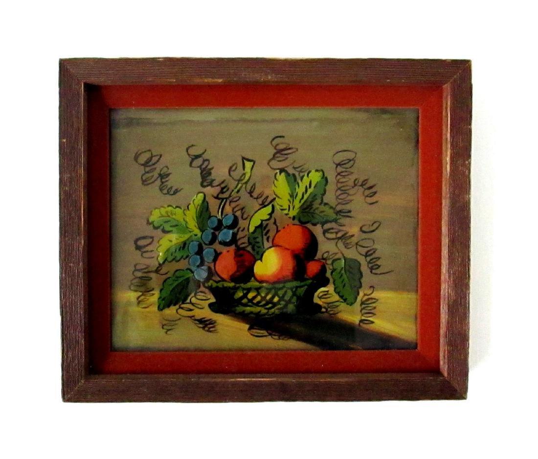 Eglomise Fruit Theorem Painting
