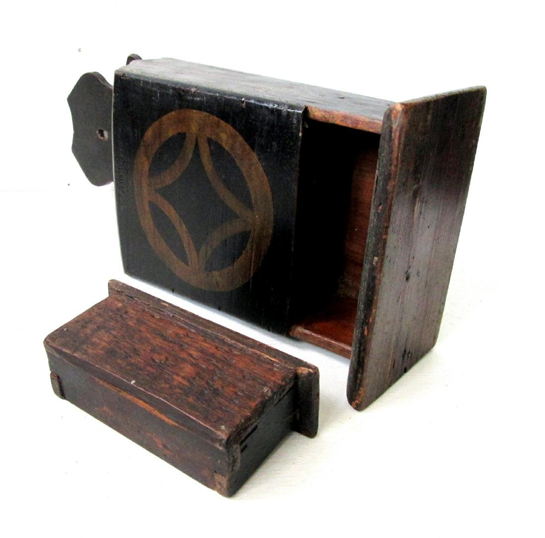 Early Painted Pipe Box - 10