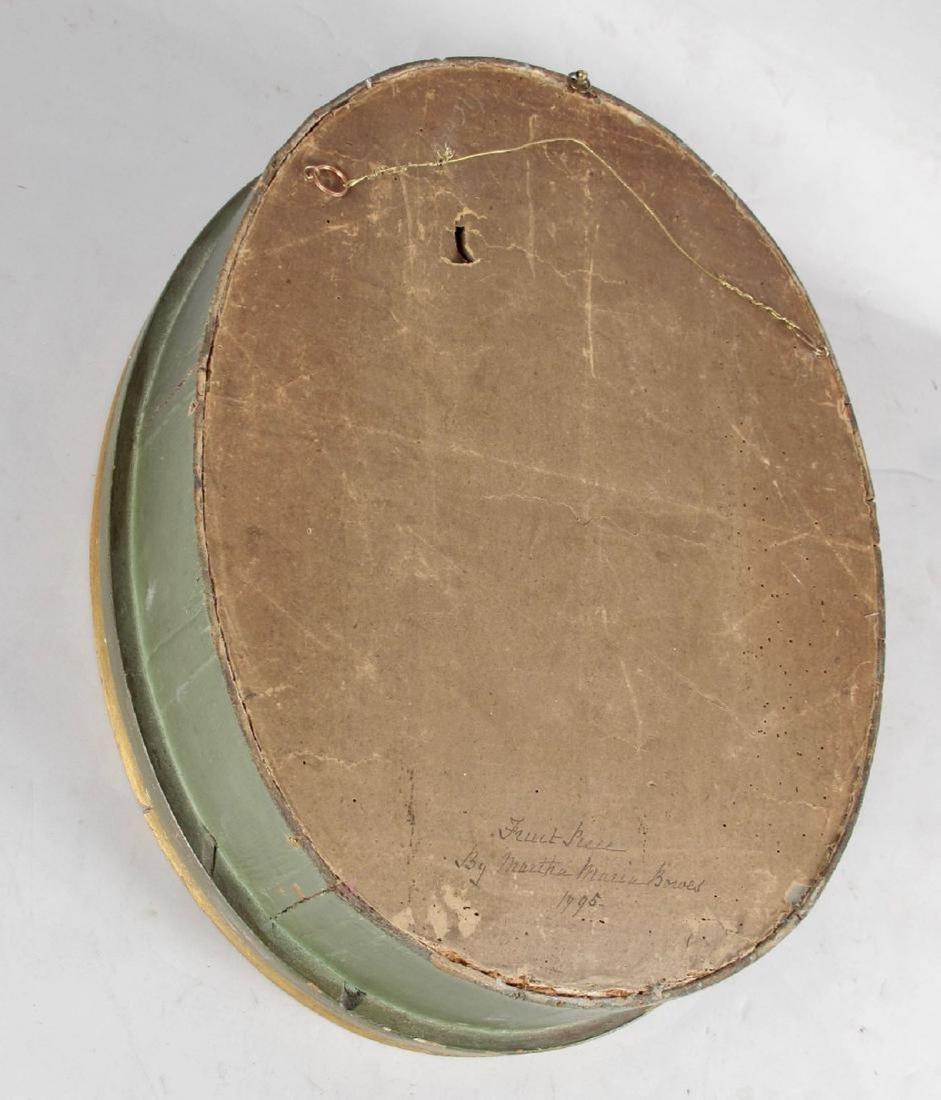 American Feltwork Shadow Box, First Half 19th Century - 2