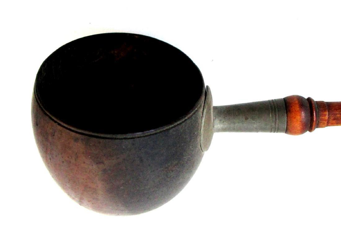 Mid 19th Century Coconut Shell Dipper - 5