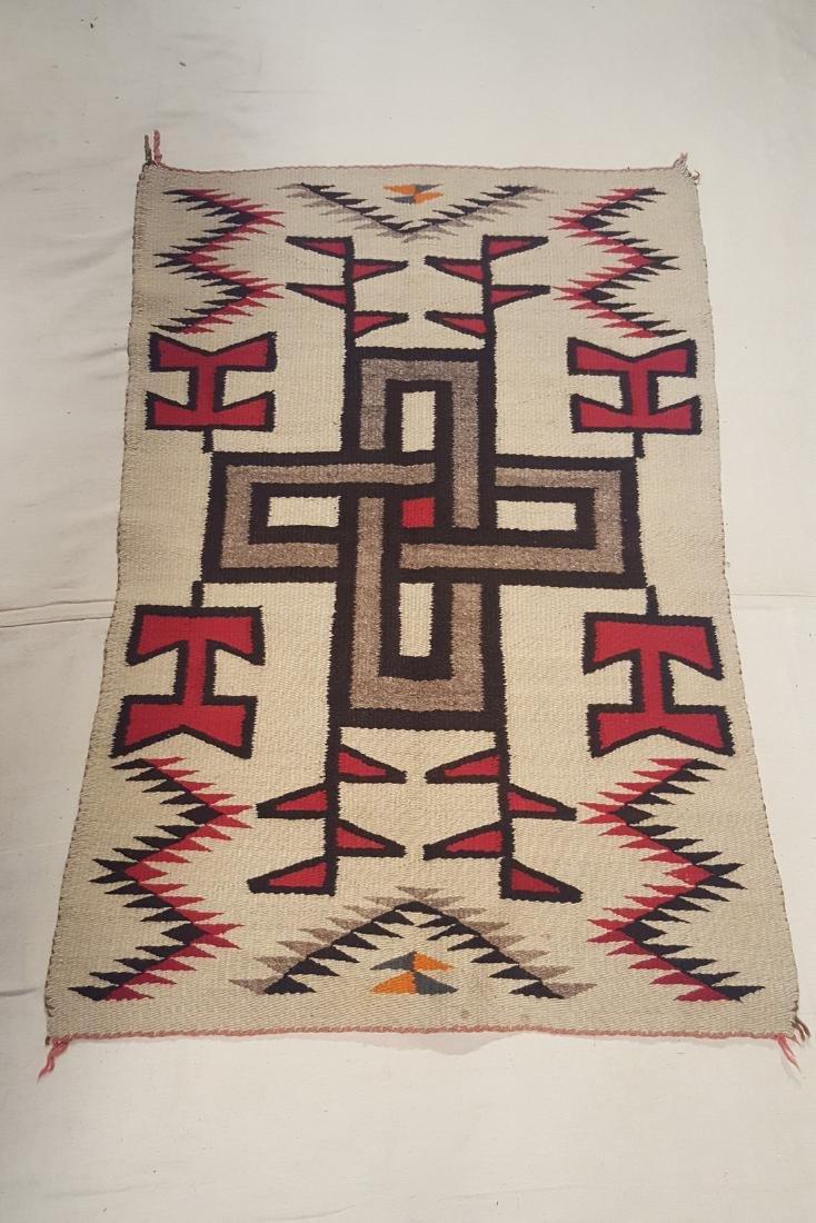 Navajo Klagetoh Woven Rug Ca 1930