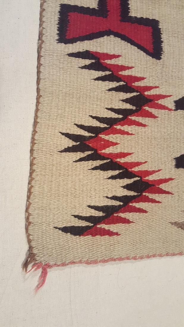 Navajo Klagetoh Woven Rug Ca 1930 - 3