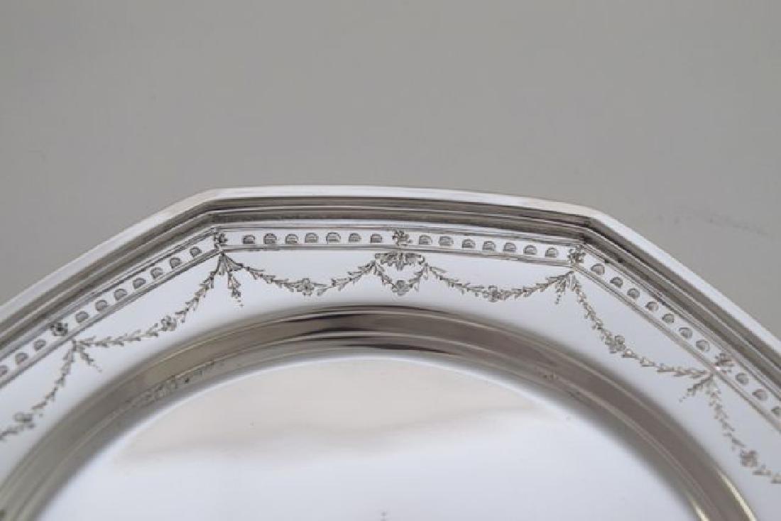 12 Sterling Silver Bread Plate - #H401 by International - 2