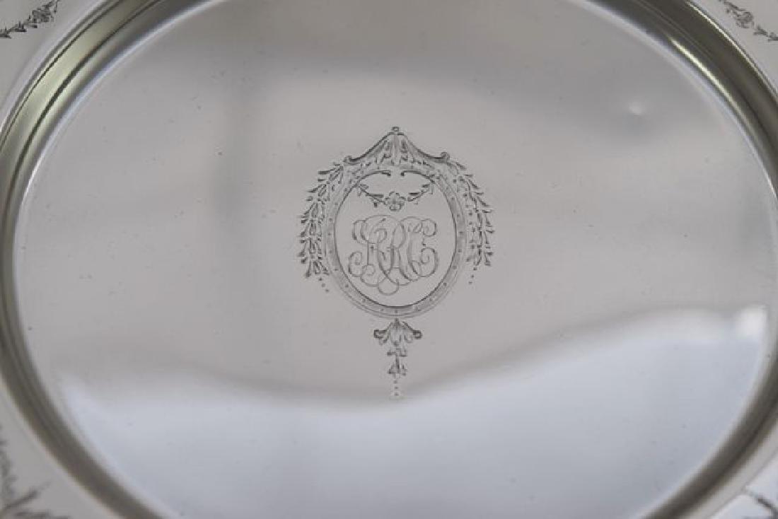 12 Sterling Silver Bread Plate - #H401 by International - 3