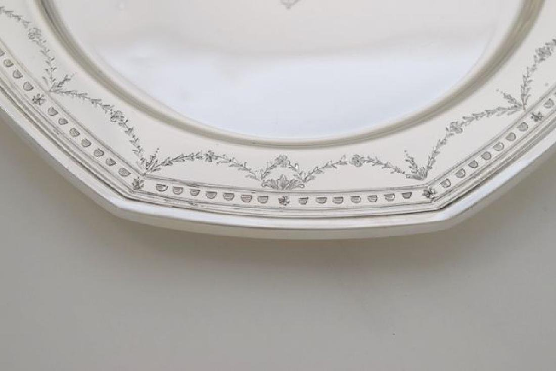 12 Sterling Silver Bread Plate - #H401 by International - 4