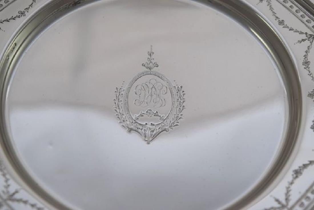 12 Sterling Silver Bread Plate - #H401 by International - 5
